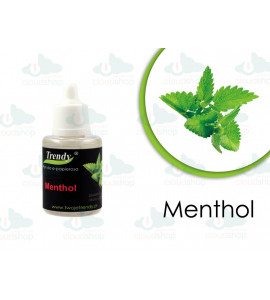 Płyn Trendy MENTHOL 0 mg 50 ml